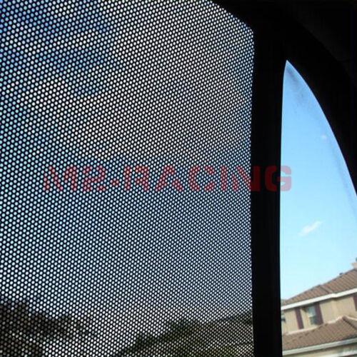 "*24/""x42/"" Black Perforated One Way Vision Print Media Vinyl Window Sticker Film"