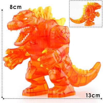 Super Godzilla Large Japan Animations Lego Moc Minifigure Toys Gift Kids