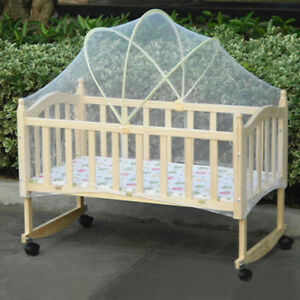 Babies-Cradle-Crib-Arched-Mosquito-Net-Tent-Canopy-Anti-Insect-Mesh-Curtain-Dome