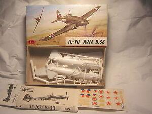 1/72 IL-10 Avia B.33    avion de chasse KP rare
