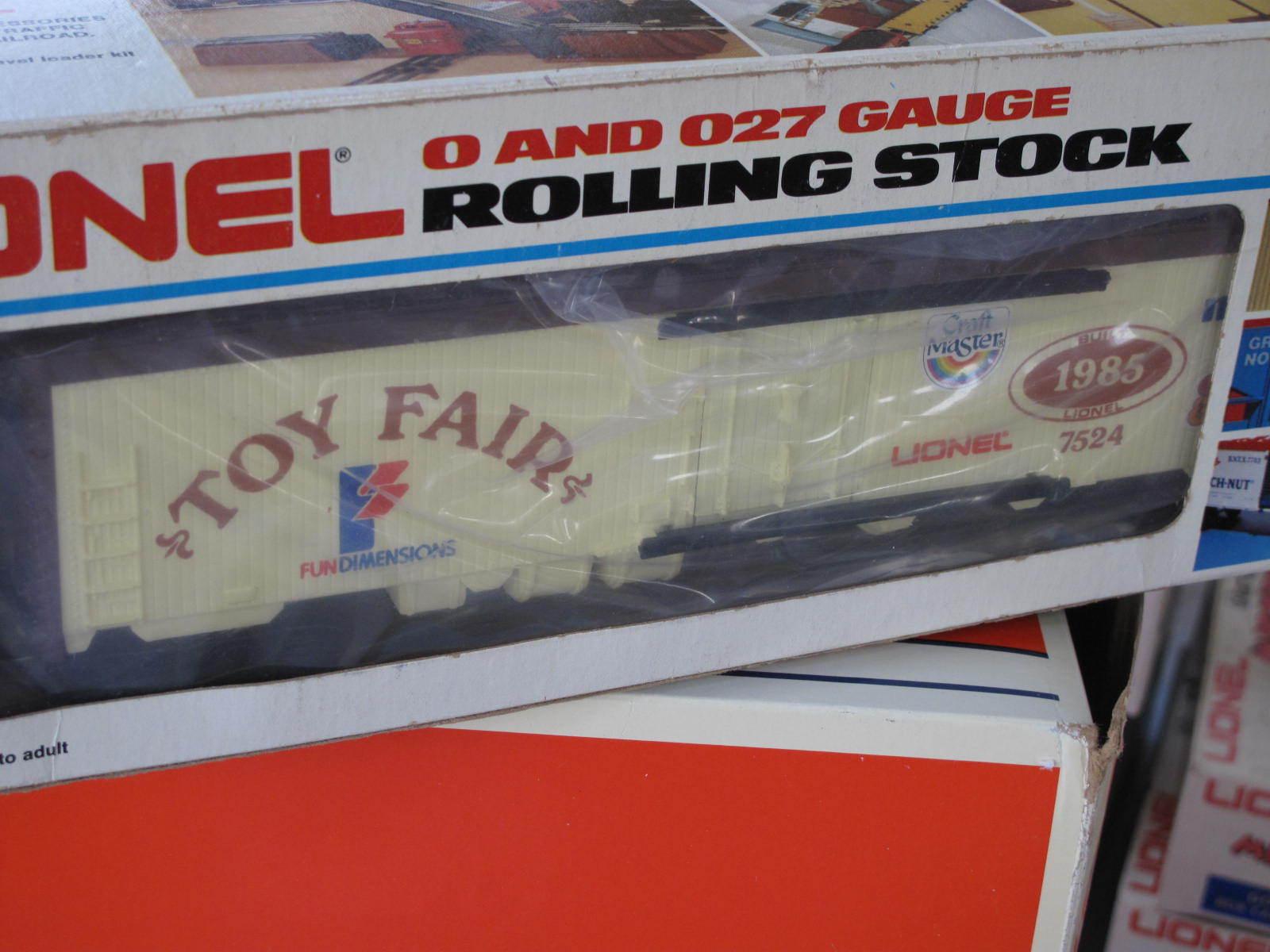 2018 Lionel 6-7524 Toy Fair coche de caja L0918 L0918 L0918 79dc25
