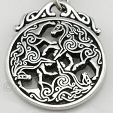 EPONA Pendant 3 CELTIC HORSE Equine Jewelry Goddess Necklace bin in our store