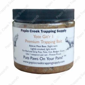 Papio Creek Yote Git'r 1 Fur Trapping Bait 16 Ounces Bobcat Meat Base Coyote