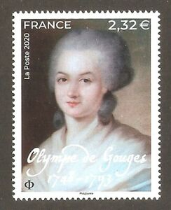 FRANCE-2020-Timbre-Olympe-de-GOUGES-NEUF-LUXE-MNH