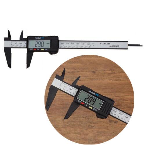 """6/"""" 150mm LCD Pied à Coulisse Numérique électronique Plastique Micromètre Tool"""