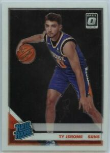 2019-20-Donruss-Optic-Basketball-Ty-Jerome-RATED-ROOKIE-Card-167-Suns