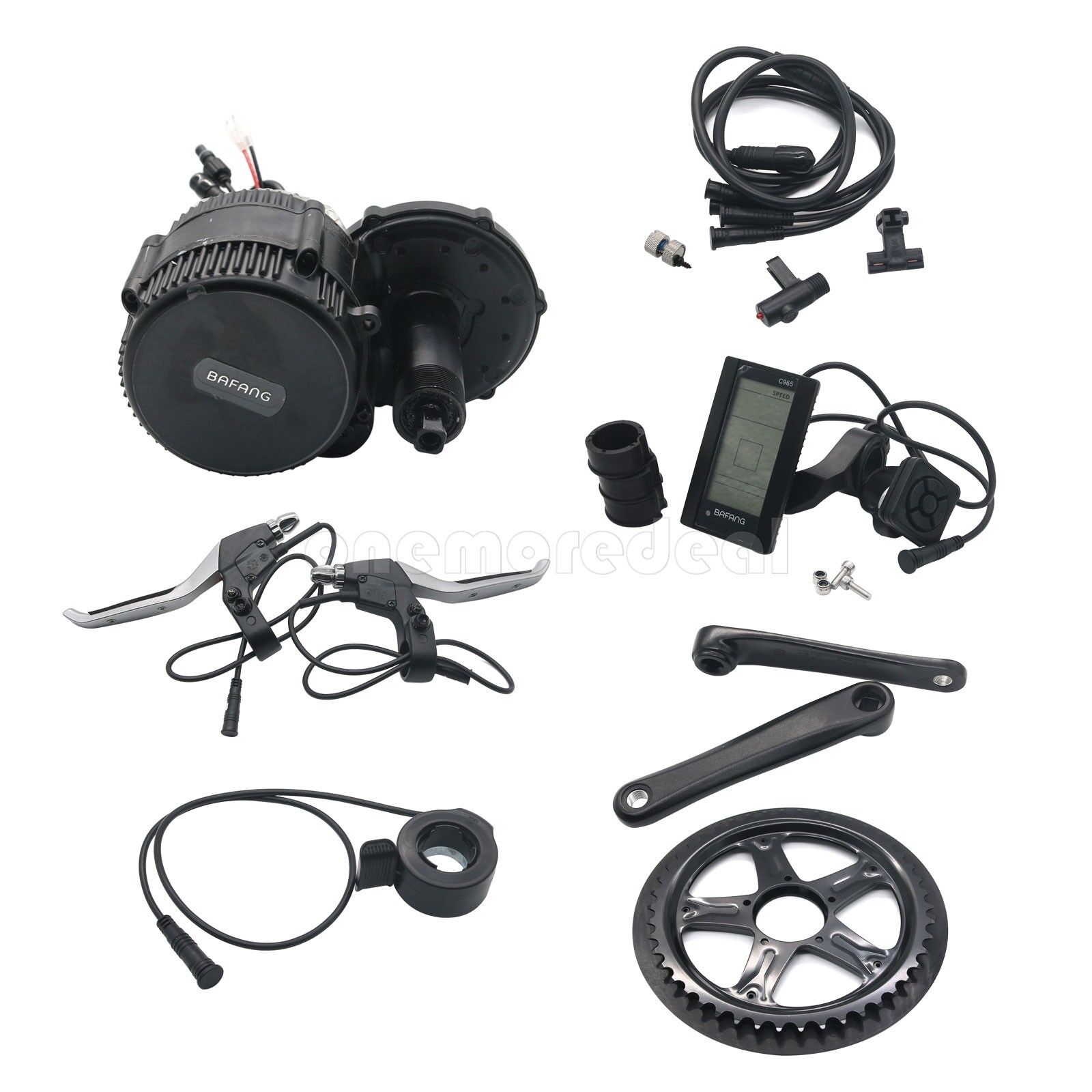 36V 48V 250W-1000W Bicycle Mid-Drive Motor Conversion Kit  & C965 LCD Display  order now