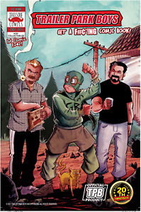 TRAILER PARK BOYS GET A F#ING COMIC BOOK #1 AOD COLLECTABLES EXCLUSIVE DDC 2021