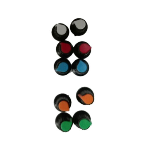 NEW Hot 10PCS Face Plastic for Rotary Taper Potentiometer Hole 6mm Knob /'TOCA