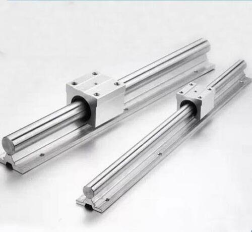 LINEAR RAIL 12mm fully supported SHAFT ROD 4 SBR12UU Block 2X SBR12 550mm L