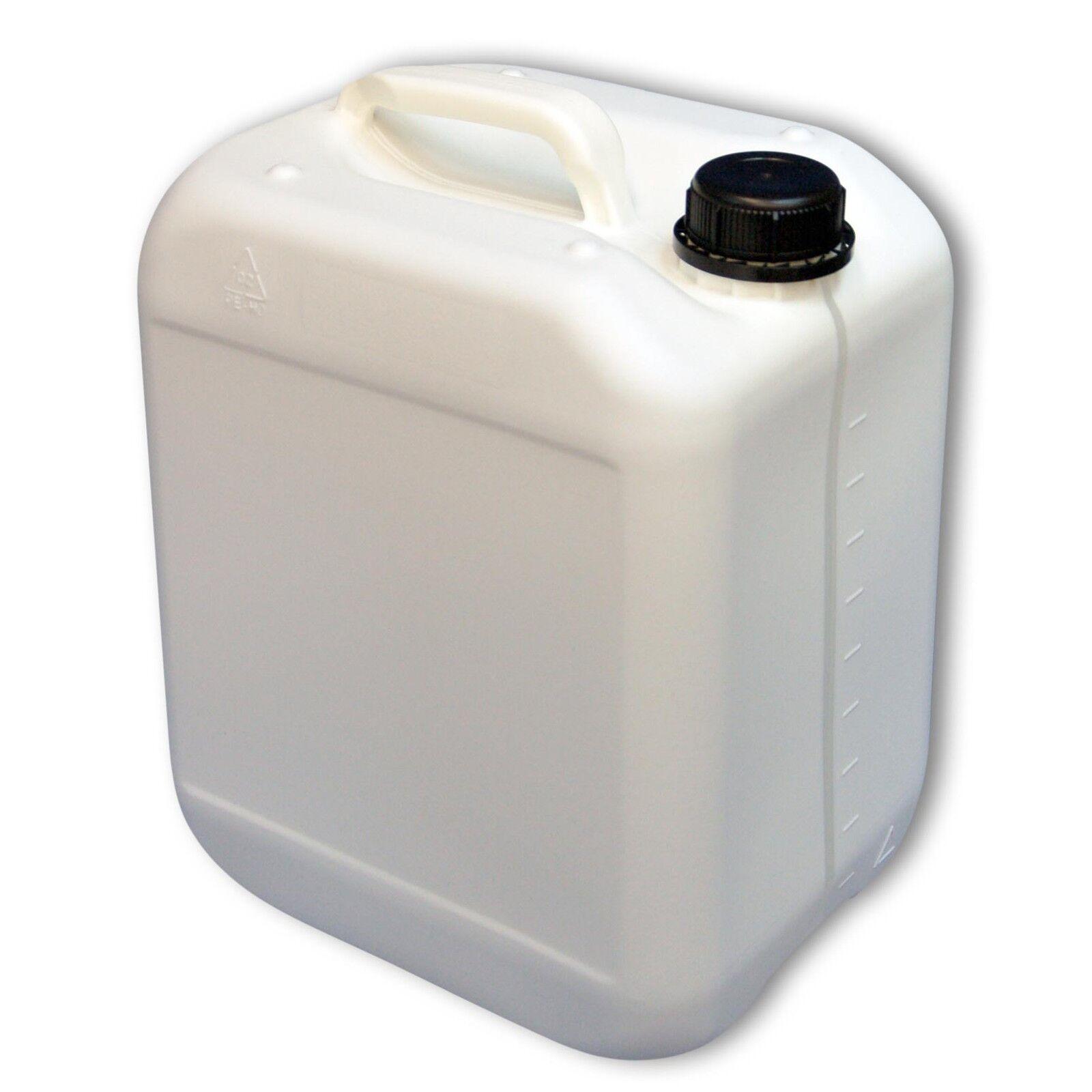 Bidon plastique 10 L, DIN45 Blanc Blanc Blanc gradué, HDPE fabriqué en Allemagne (22116) 162c51