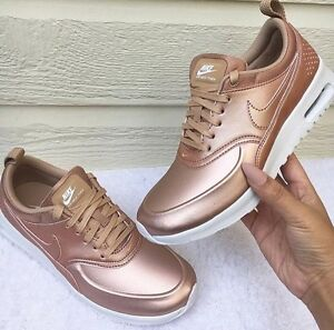 nike max thea rose gold
