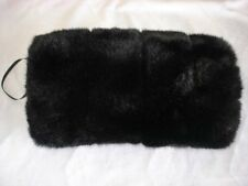 Faux fur hand muff Black mink Choose your fur Matching stoles available