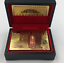 Gold-Plated-Playing-Cards-Poker-Deck-Wooden-Box-amp-99-9-Certificate-24k-Foil thumbnail 34