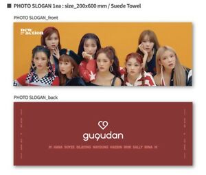 Details about GUGUDAN 3rd Mini Album Act 5 New Action Official Goods ACT 5  Slogan