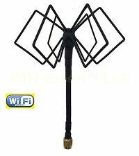 WiFi Antenna 2.4Ghz Omni TRIPLE BiQuad MACH 4S Antenna for FPV LONG RANGE BOOST