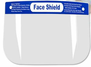 6pk Anti-splash Anti-fog,Transparent Full Face Shield