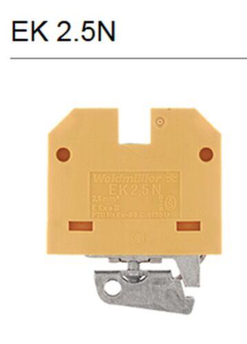 10x Schutzleiter-Reihenklemme EK 2.5N Weidmüller 047436 Terminal Block