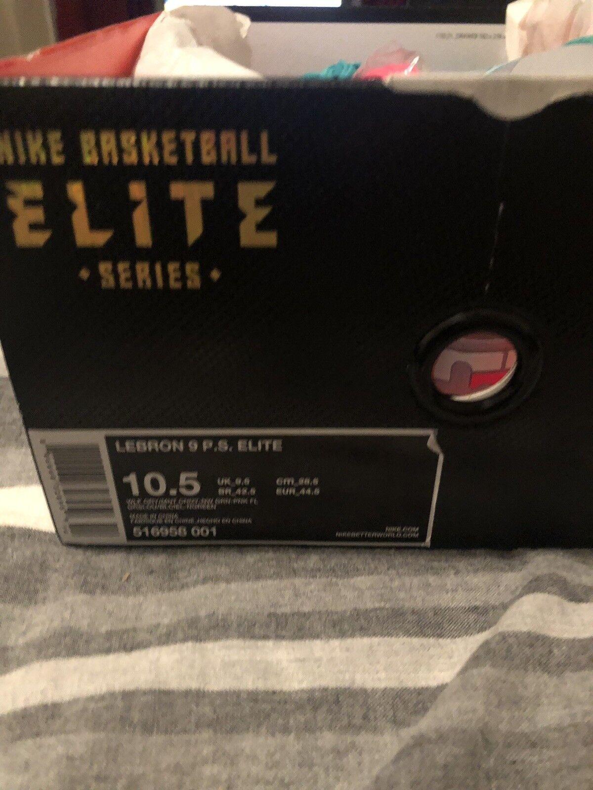 Nike Lebron (IX) 9 P.S. Elite  SOUTH BEACH   MIAMI VICE  Size 10.5 516958 001