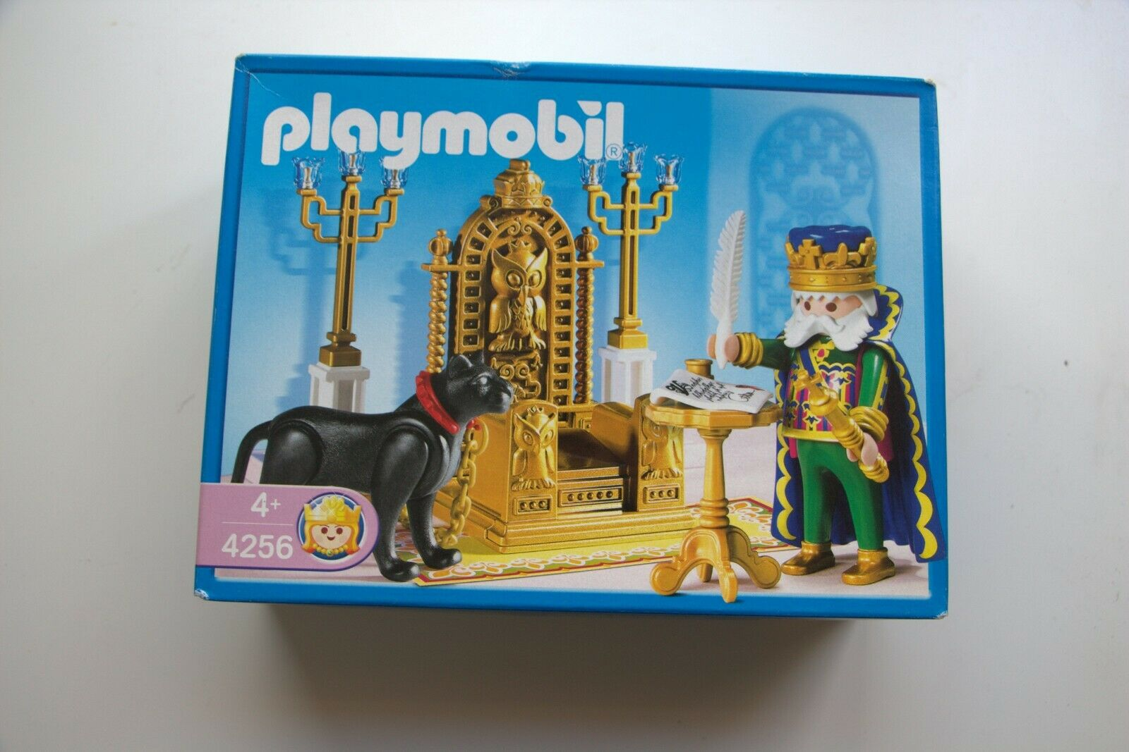 PLAYMOBIL 4256 KING WITH THRONE VINTAGE MISB.NEW