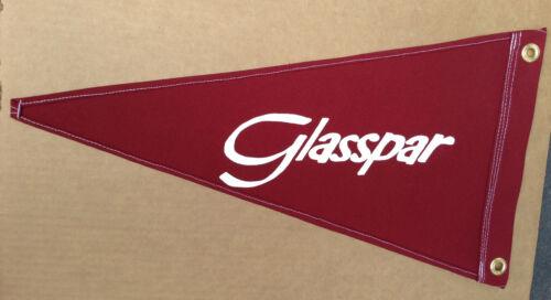Glasspar Vintage Style Boat Flag Pennant Retro Nautical Memorabilia Reproduction