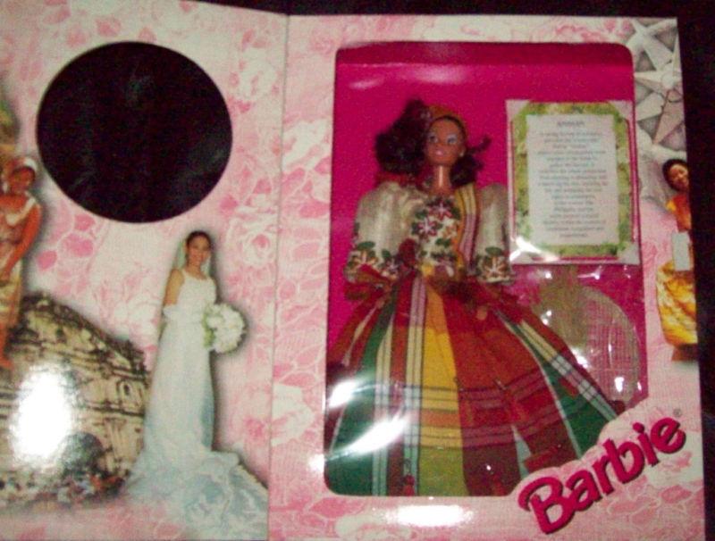 2000 tradisyong anihan filipina Barbie le de 1.000