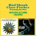 Bossa Nova Jazz Samba/Brasamba [Bonus Tracks] by Clare Fischer/Bud Shank (CD, Dec-2012, Solar Records)