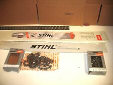 """Stihl 25in Duromatic E Chainsaw Bar 25"""" Hard nose 2 Chains MS362 MS441 MS661"""