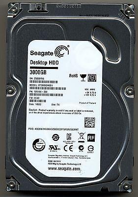 Site Seagate HDD PCB 100724095 REV A ST3000DM001 PN TK CC43 FW 1ER166-300