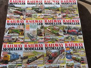 Actif Railway Modeller Magazine Model Rail Magazines From 2013 Facile Et Simple à Manipuler