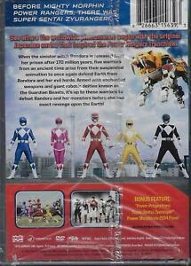 Details about SUPER SENTAI ZYURANGER COMPLETE SERIES New 10 DVD Set Power  Rangers Japanese