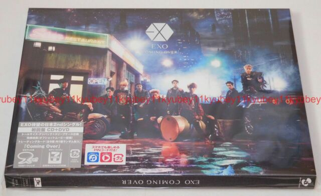 New EXO Coming Over First Limited Edition CD DVD Trading Card Japan AVCK-79350