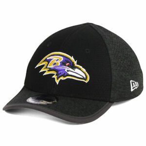 0b2cdcd71 Details about Baltimore Ravens New Era NFL Kid's On Field Performance 3930  Cap Hat Child Youth