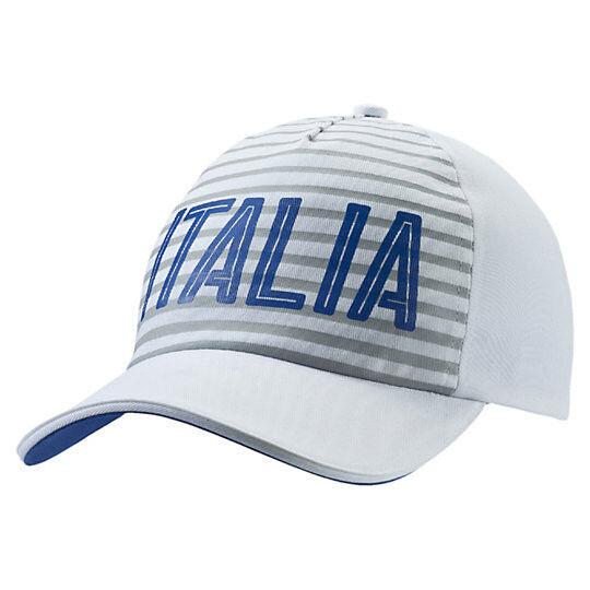 dd2b4955c1f PUMA ITALIA Fanwear Snapback Hat White for sale online