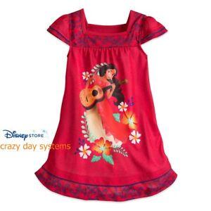 7d7b78991c NWT Disney Store Elena of Avalor Nightshirt Nightgown 4 7 8 Girls PJ ...