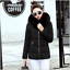 Hot-Winter-Women-039-s-Down-Cotton-Parka-Short-Fur-Collar-Hooded-Coat-Quilted-Jacket thumbnail 8