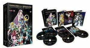 6-Dvd-Box-Cofanetto-I-CAVALIERI-DELLO-ZODIACO-I-CAPITOLI-DI-ADE-serie-completa