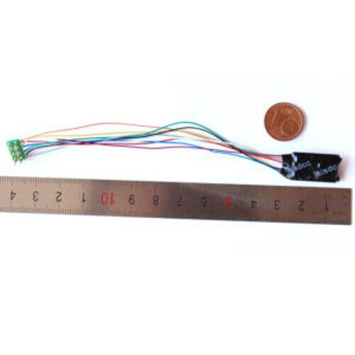 LaisDcc Decoder Chip 9 Wire NEM652 8 Pin Fn2 Wire Part No.860021 DCC