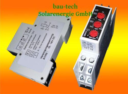 12v Surveillance de Tension Sous 12v Piles Moniteur de Batterie Parent