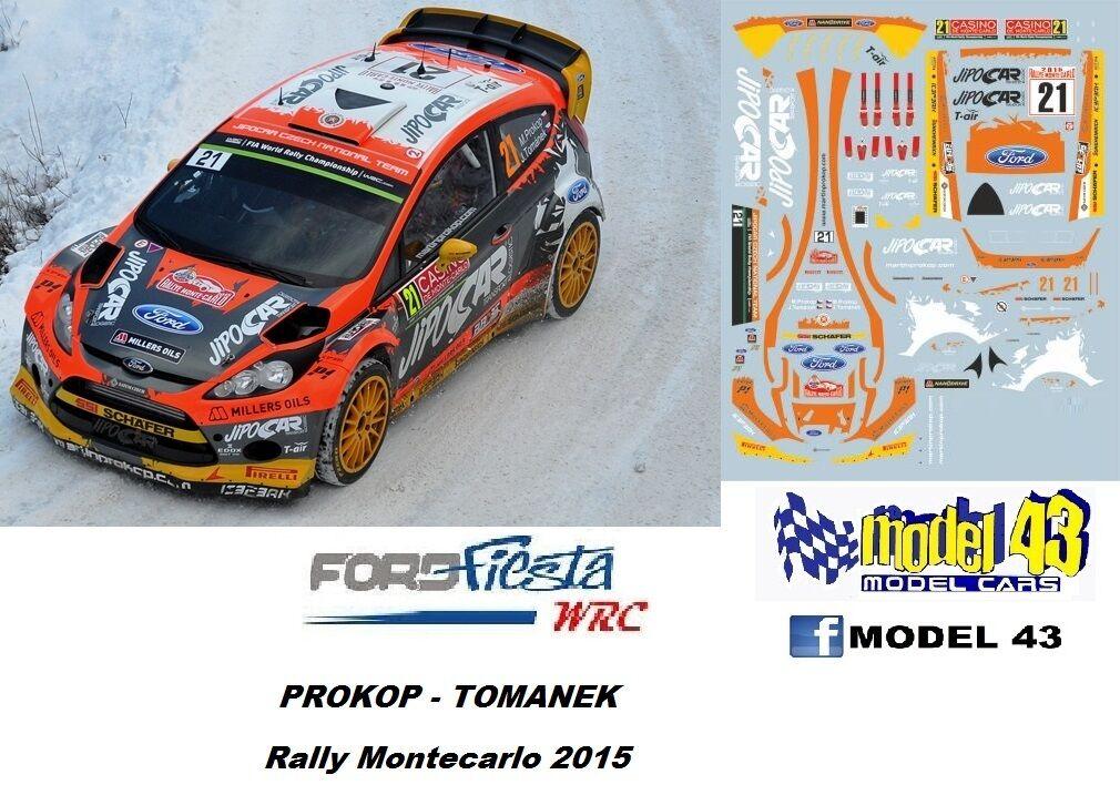 Ford Fiesta WRC - PROKOP - rally Monte billo 2015