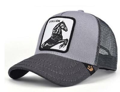 Goorin Bros TIGER WHITE Snapback Trucker BASEBALL Hat Cap Adjustable