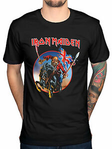 Image Is Loading Official Iron Maiden Euro Tour T Shirt En