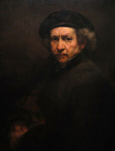 Self-Portrait-by-Rembrandt-100-Handmade-Oil-Painting-Reproduction-on-Canvas