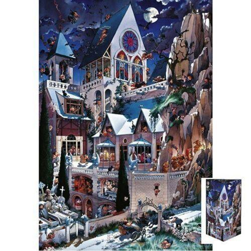 Heye Puzzle 2000 elements Loupt Castle of Horror