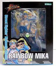 "In STOCK Kotobukiya ""Rainbow Mika"" Street Fighter Bishoujo PVC Statue"