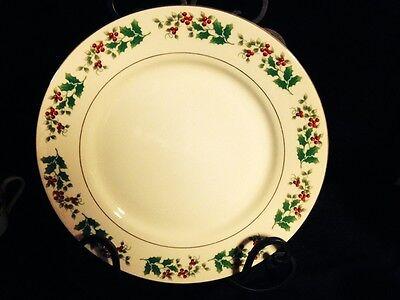 Gibson Housewares Dinner Plate - Christmas Holly
