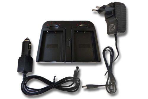 Cámara de batería cargador dual para olympus pen e-pl1//e-pl3//e-pm3 ps-bls1