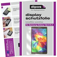 2x dipos Samsung Galaxy Tab S 8.4 t700 o.T. klar Displayschutzfolie Crystalclear