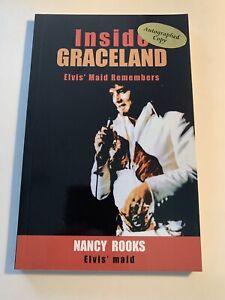 Inside-Graceland-By-Nancy-Rooks-Autograph-Copy-Memphis