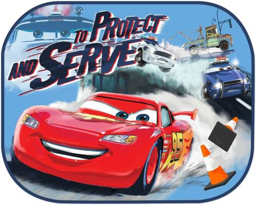 Twin Pack Disney Cars Window Sun Shade Lightning Mcqueen Baby Window Visor